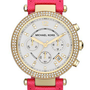 Michael Kors 'Parker' Chronograph Leather Watch, 39mm | Nordstrom