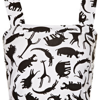 Jungle Animal Bralet - Topshop USA