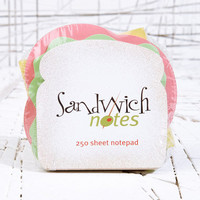 Sandwich Notes at Urban Outfitters