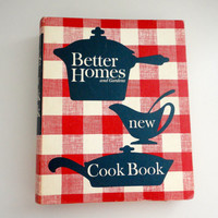 Better Homes and Gardens New Cook Book 3 Ring Binder In Great Condition From 1962