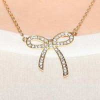 Adorable Ribbon Necklace