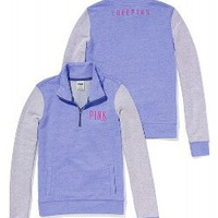 Half-Zip Pullover - PINK - Victoria&#x27;s Secret