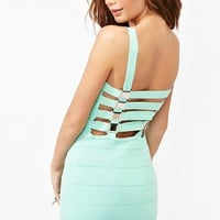 Buckle Up Bandage Dress in Clothes Dresses at Nasty Gal