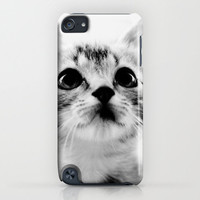 Sweet Kitten iPhone & iPod Case by Erin Johnson