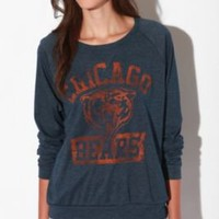 Junk Food Chicago Bears Long-Sleeved Raglan Tee