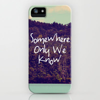 Somewhere iPhone &amp; iPod Case by Rachel Burbee