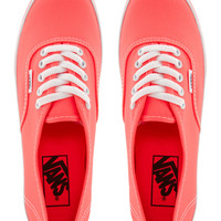 Vans Authentic Lo Pro Coral Trainers