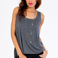 Basic Pocket Tank Top $20