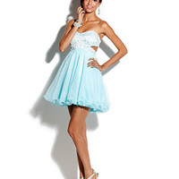 Roberta Juniors Dress, Strapless Empire-Waist Tulle - Juniors Prom Shop - Macy's