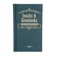 Insults and Comebacks Book