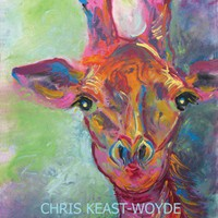 Masai Giraffe Print of the Lovable Animal of Africa | KeastWoydeArtStudio - Reproduction on ArtFire
