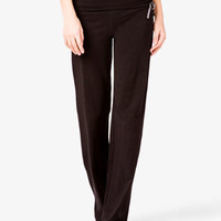 Relaxed Foldover Workout Pants