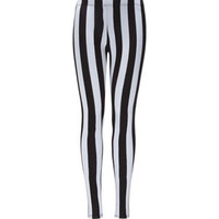 FULL TILT Vertical Stripe Girls Leggings