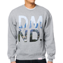 Diamond Supply LA Heather Grey Crew Neck Sweatshirt
