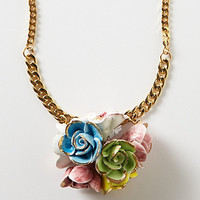 High Tea Floral Pendant Necklace