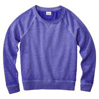 Mossimo Supply Co. Juniors Crew Neck Sweatshirt - Assorted Colors