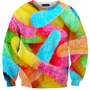Gummy Worm Sweater | Shelfies - Outrageous Sweaters