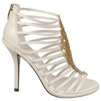 Women's Fergie  Drama White Leather Shoes.com