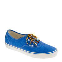 Vans for J.Crew washed canvas authentic sneakers - sneakers - Men&#x27;s shoes - J.Crew