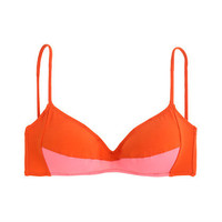 Araks for J.Crew Yanelis bikini top