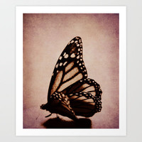 Monarch Art Print by KunstFabrik_StaticMovement Manu Jobst