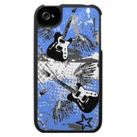 Grunge Guitars Speck iPhone 4 Case from Zazzle.com