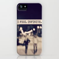 I Feel Infinite iPhone &amp; iPod Case by Caleb Troy