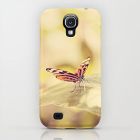 Flutterby iPhone & iPod Case by Erin Johnson