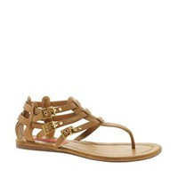 London Rebel Gladiator Sandal at asos.com