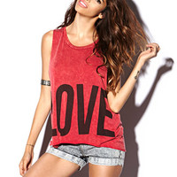Love Hate Muscle Tee