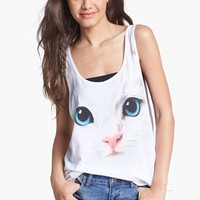 Workshop Kitten Muscle Tank (Juniors) | Nordstrom