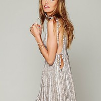 Free People Tanzania Tie Dress