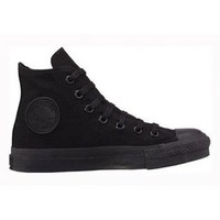 Converse All Star- -Converse Chuck Taylor All Star Hi Top Black Monochrome-Shoes-Mens Shoes-Mens Athletic Shoes