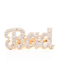 "DJPremium.com - Women - Shop by Brand - New - ""BAD"" CUFF RING"