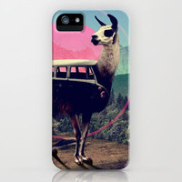 Llama iPhone & iPod Case | Print Shop