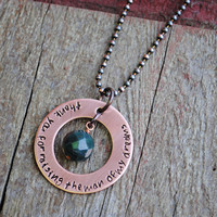 Wedding Mother In Law Gift, Copper Necklace, Thank You For Raising The Man Of My Dreams, Mothers Day Gift Mother In Law