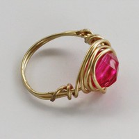 Red Delight Ring