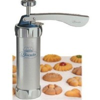 Cookie Press - Deluxe Atlas Biscuit Maker with 20 Disks