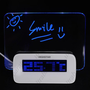 Multifunction LCD Digital Alarm Clock Thermometer + 4-Port USB HUB + Message Board with Blue Light from UltraBarato Gadgets