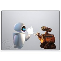 WallE & Eva Macbook Decal Mac Apple skin sticker