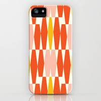 Abacus - Orange  iPhone &amp; iPod Case by Heather Dutton