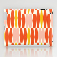 Abacus - Orange  iPad Case by Heather Dutton