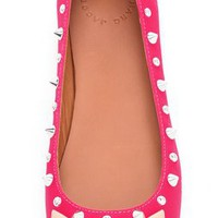 Marc by Marc Jacobs Studded Neon Mouse Flats | SHOPBOP