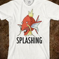 Splashing - Films and Such - Skreened T-shirts, Organic Shirts, Hoodies, Kids Tees, Baby One-Pieces and Tote Bags