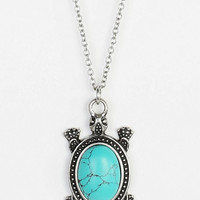 Urban Outfitters - Turtle Pendant Necklace