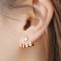 Letter Kiss Earrings