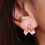 Bow Rhinestone Earring