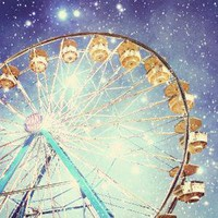 Fine Art Carnival Photography print of a Ferris wheel 