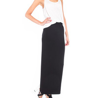 Straight Fit Maxi Skirt - 2020AVE
