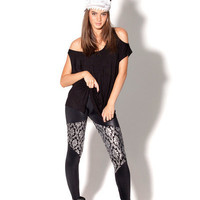 Spartan Wallpaper Shiny Shiny Leggings - LIMITED